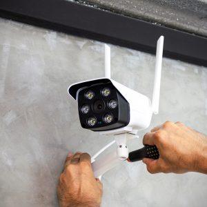 Installing custom surveillance camera system